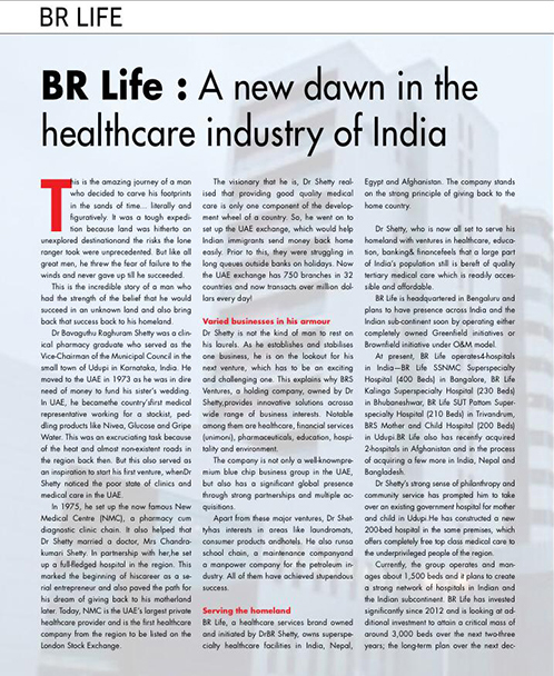 A new dawn in the healthcare industry of India