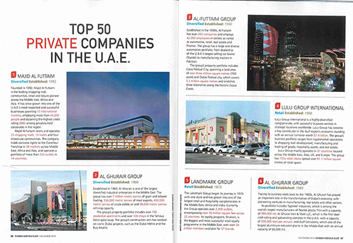 Top 50 Companies In Uae